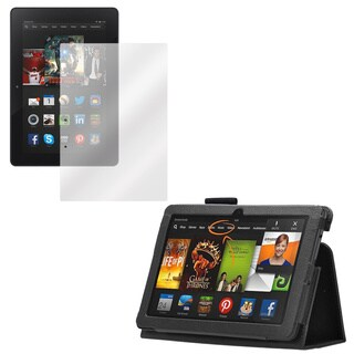 Kindle Fire HDX 3Gen Screen Protector and Folio