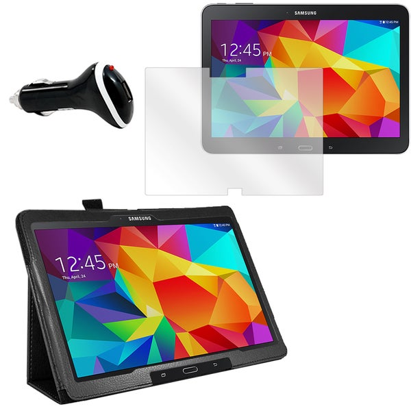 Galaxy Tab 4 T530 Screen Protector/ Folio and Charger