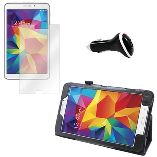 Galaxy Tab 4 T330 Screen Protector/ Folio and Charger