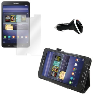 Galaxy Tab 4 T230 Screen Protector/ Folio and Charger