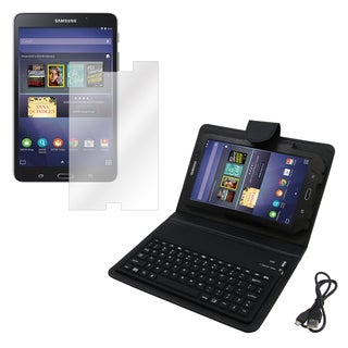 Galaxy Tab 4 T230 Screen Protector and BT Folio