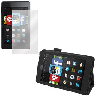Kindle Fire HD 6 Screen Protector and Folio