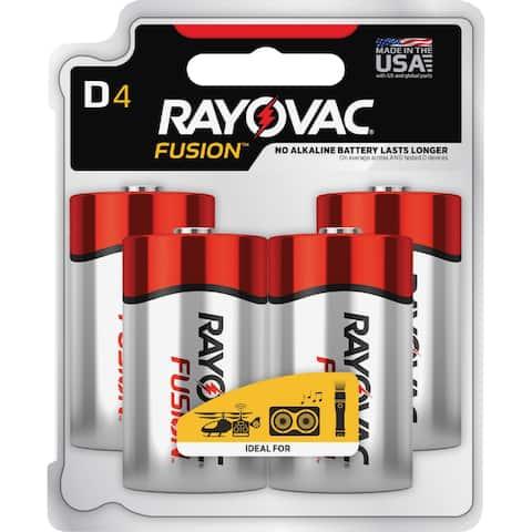 Rayovac Fusion Alkaline D Batteries
