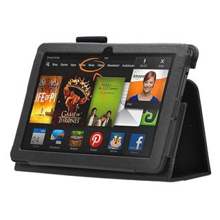 Kindle Fire HDX 3rd Gen PU Leather Case