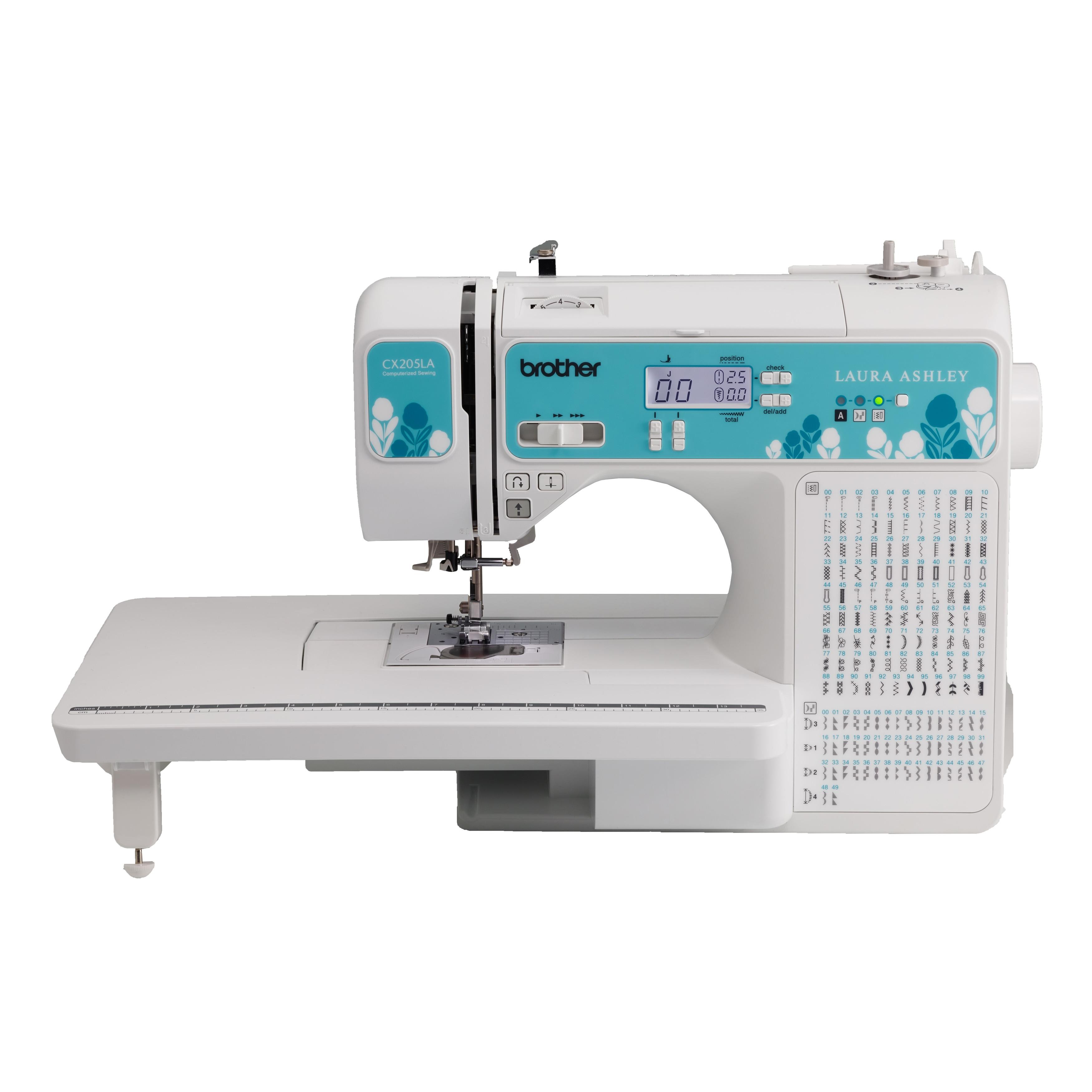 Brother CX205LA Laura Ashley Computerized Sewing Machine,...