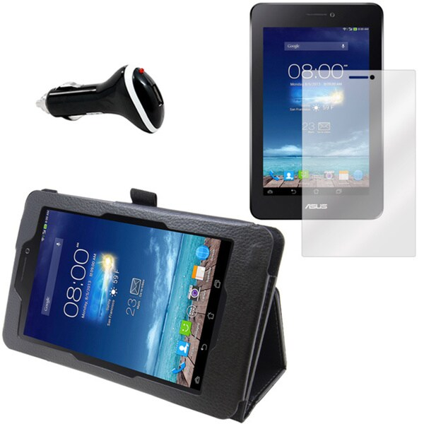 ASUS MemoPad HD7 ME175KG Screen Protector/ Folio and Charger