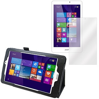 Acer Iconia Tab W1810 Screen Protector and Folio