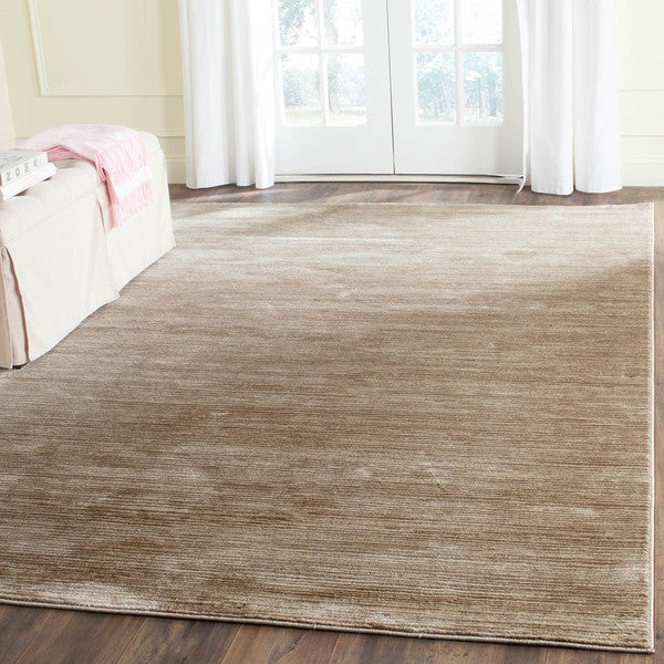 Rugs At Home Goods: Safavieh Vision Contemporary Tonal Light Brown Area Rug