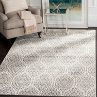 Safavieh Valencia Alpine/ Cream Distressed Silky Polyester Rug - 8' x 10'
