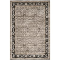Safavieh Persian Garden Grey/ Black Viscose Rug - 8' x 11'