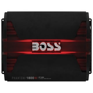 Boss Audio PF1800 Phantom 1800-Watt Full Range, Class A/B 2 to 8 Ohm
