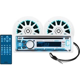 BOSS AUDIO 632UAB Single-DIN MECH-LESS Multimedia Player (no CD or DV