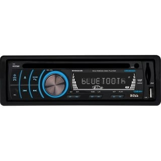 Boss Audio BV6654B Single-DIN DVD Player Receiver, Bluetooth, Detacha