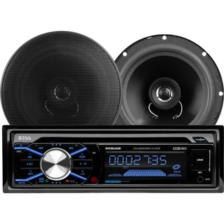 BOSS AUDIO 656BCK Package Includes 508UAB Single-DIN AM/FM CD Receive