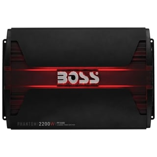 Boss Audio PF2200 Phantom 2200-Watt Full Range, Class A/B 2 to 8 Ohm