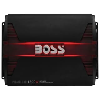 Boss Audio PT1600 Phantom 1600-Watt Full Range, Class A/B 2 to 8 Ohm