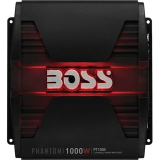 Boss Audio PT1000 Phantom 1000-Watt Full Range, Class A/B 2 to 8 Ohm