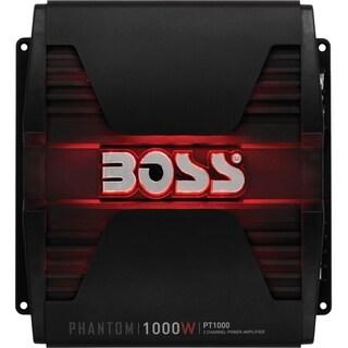 BOSS AUDIO PT1000 Phantom 1000-Watt Full Range, Class A/B 2 to 8 Ohm