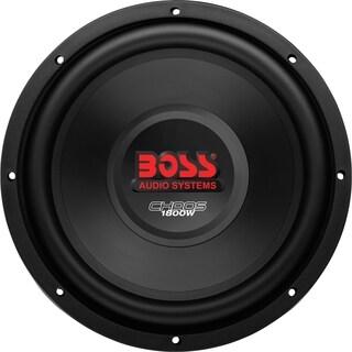 BOSS AUDIO CH12DVC Chaos12 inch DUAL Voice Coil (4 Ohm) 1800-watt Sub