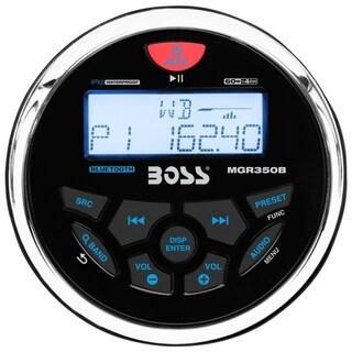 BOSS AUDIO MGR350B Marine Gauge MECH-LESS Multimedia Player (no CD or