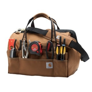 Carhartt Brown Legacy 16-inch Tool Bag