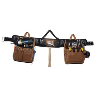 Carhartt Brown Legacy Deluxe Tool Belt