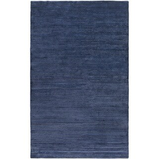 Hand-Knotted Zachary Solid Indoor Area Rug (9' x 13')