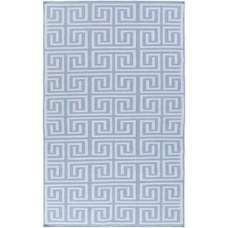 Hand-Woven Solomon Geometric Pet Area Rug - 2' x 3'