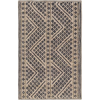 Hand-Knotted Tony Nature Indoor Rug (8' x 11')