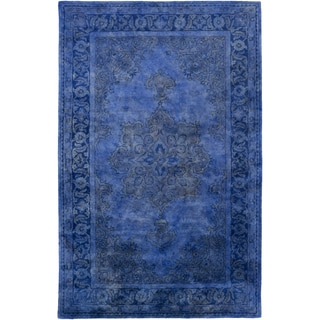 Hand-Tufted Linhope Medallion Wool Rug (8' x 11')