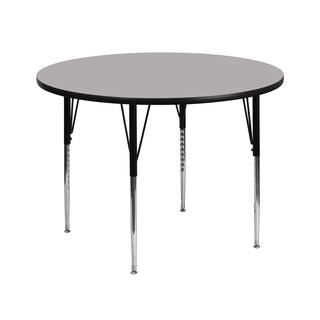 21.125-30.125-Inch Height-adjustable Laminate Round Activity Table