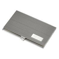 Visol Berger Silverplated Business Card Case