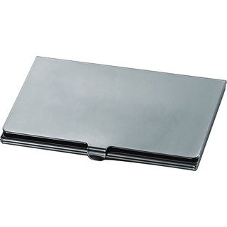 Visol Elwood Gunmetal Business Card Case