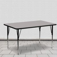 21.25-30.25-Inch Adjustable Legs Laminate Activity Table - 21.25 x 30.25