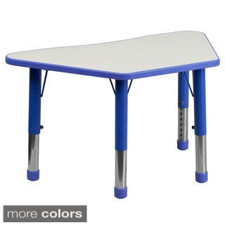 14.5-23.5-Inch Height-adjustable Plastic/ Steel Preschool Activity Table