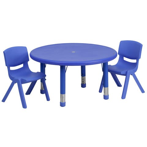 Super Buy Round Kids Table Chair Sets Online At Overstock Our Interior Design Ideas Gresisoteloinfo