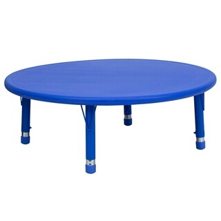 14.5-23.75-Inch Height-adjustable Plastic Pre-school Activity Table