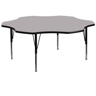 16.125-25.125-Inch Height-adjustable Chrome Preschool Activity Table|https://ak1.ostkcdn.com/images/products/10055919/P17200693.jpg?impolicy=medium
