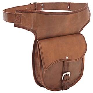 Sharo Hand Crafted Leather Hip Belt Bag