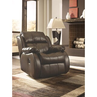 Signature Design by Ashley Mollifield DuraBlend Cafe Rocker Recliner