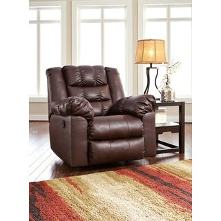 Signature Design by Ashley Brolayne DuraBlend Saddle Rocker Recliner