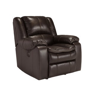 Signature Design by Ashley Long Knight Brown Rocker Recliner