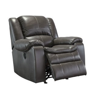 Signature Design by Ashley Long Knight Grey Rocker Recliner