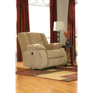 Signature Design by Ashley Garek Sand D Rocker Recliner