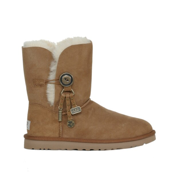 Shop Ugg Women's Azalea Chestnut Boots Free Shipping Today