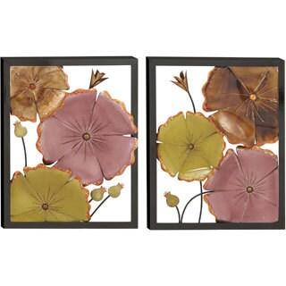 Casa Cortes 'Spring Flower Blossom' 3D Metal Wall Art (Set of 2)