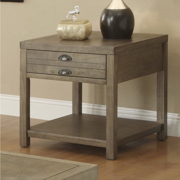 Coaster Company Cottage Driftwood End Table
