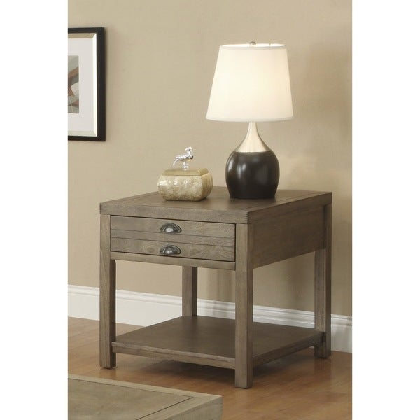 Driftwood End Table: Shop Coaster Company Cottage Driftwood End Table