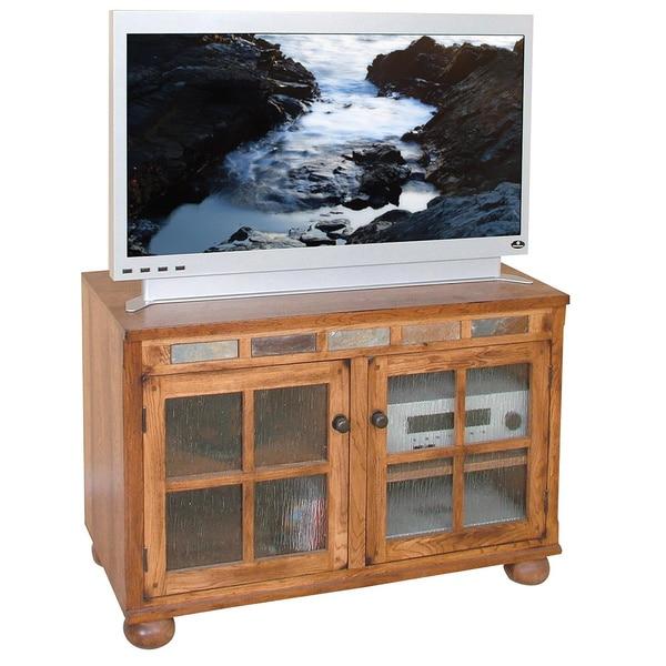 Shop Sunny Designs Sedona 42 Inch Tv Console Free