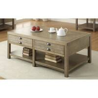 Coaster Company Cottage Driftwood Coffee Table